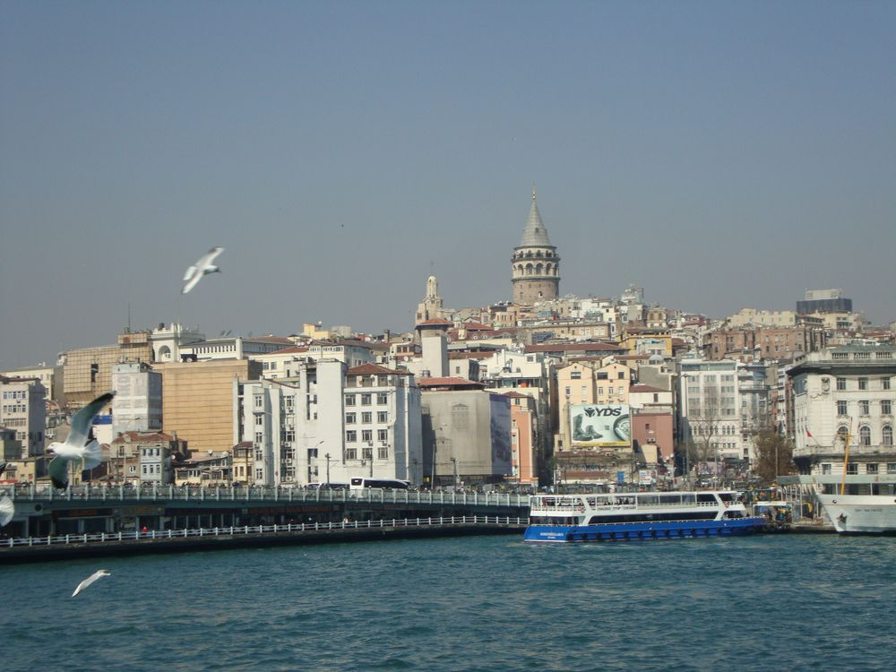 Galata-Brücke und Turm