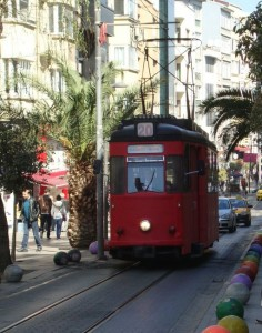 Tram in Kadiköy