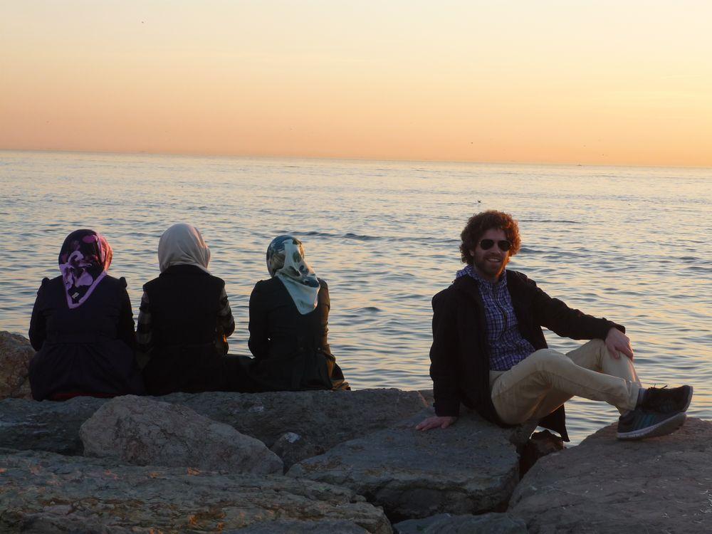 Abendliches Kadiköy-Ufer