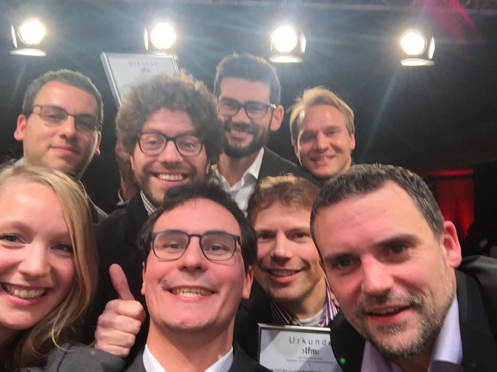 Sieger-Selfie